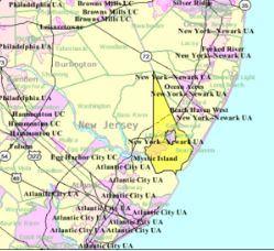 Four Seasons Sea Oaks map