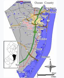Holiday City SIlverton map