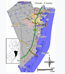 shenandoah commons toms river map